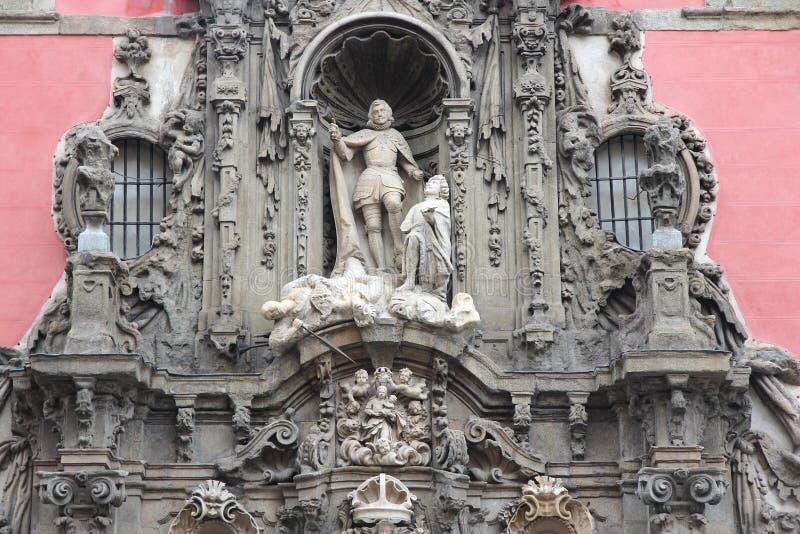 Museum in Madrid lizenzfreie stockfotos