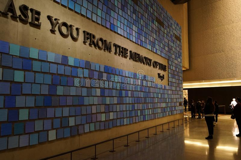 The 9/11 Museum 77 stock photography