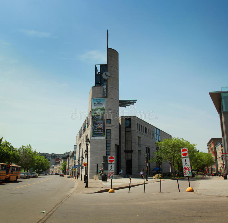 Museum in Montreal stock fotografie