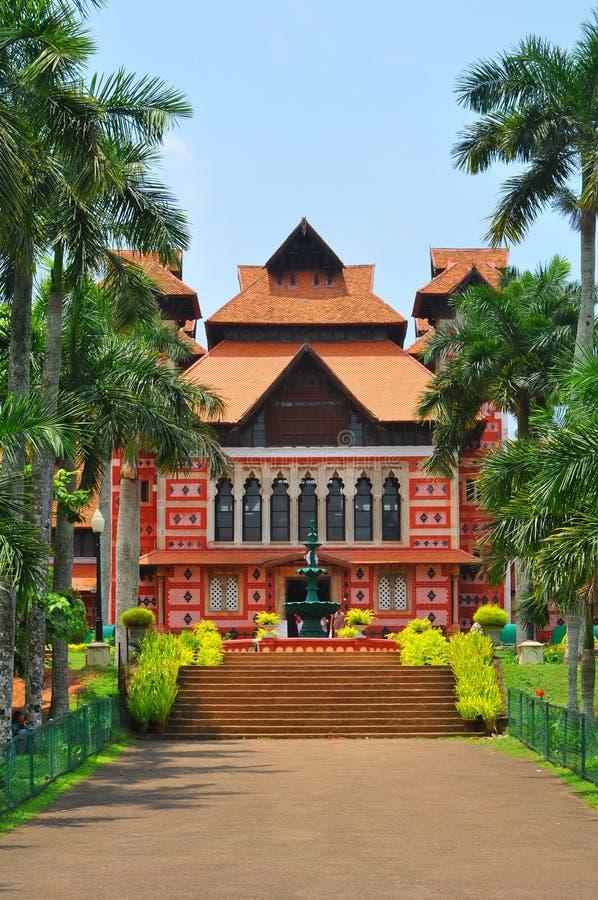 museum napier trivandrum royaltyfria bilder