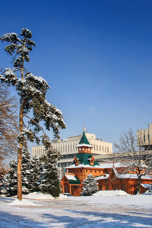 Museum of National Musical Instruments, Almaty, Kazakhstan. stock photography