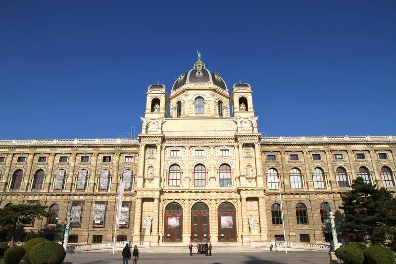 The Museum Of Natural History In Vienna Royalty Free Stock Photos