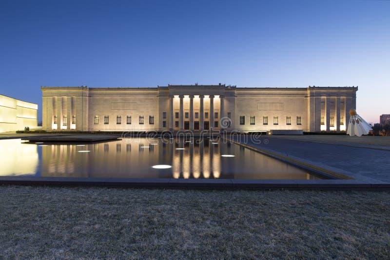 Museum Nelson-Atkins van Art. stock foto's