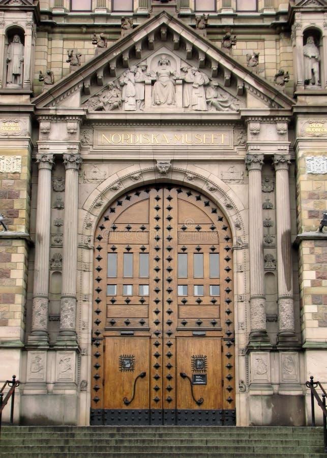 museum nordiska stockholm royaltyfria foton