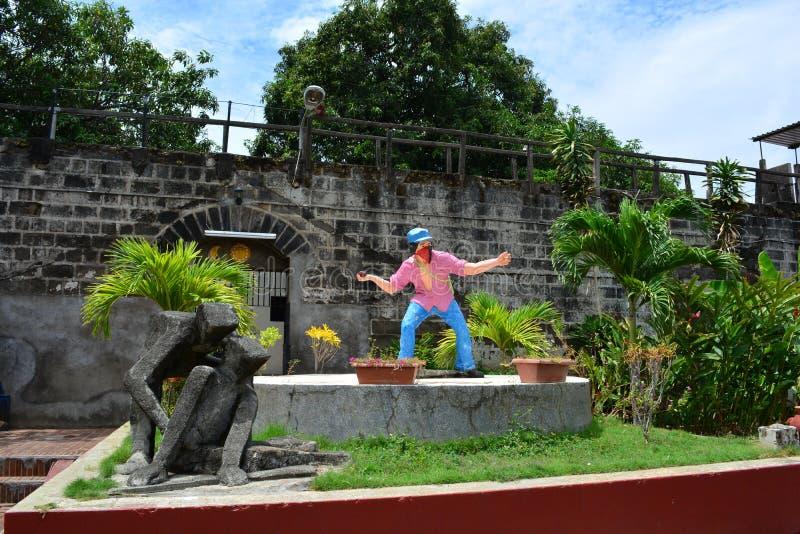Museum ol Legenden en Tradities in Leon, Nicaragua royalty-vrije stock afbeelding