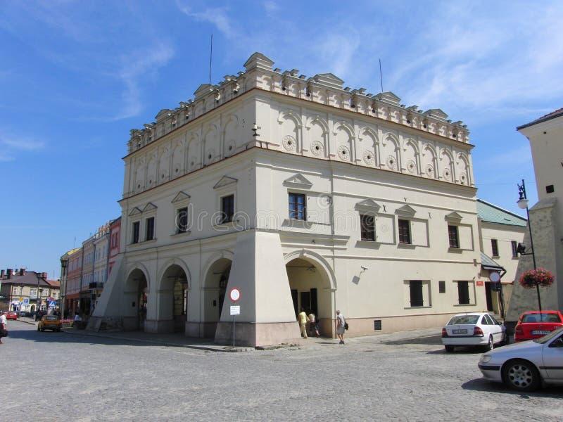 Museum Orsetti in Jaroslaw Poland stockfotos