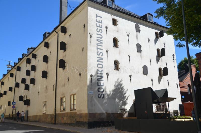 Museum of Performing Arts Scenkonstmuset royalty-vrije stock foto's