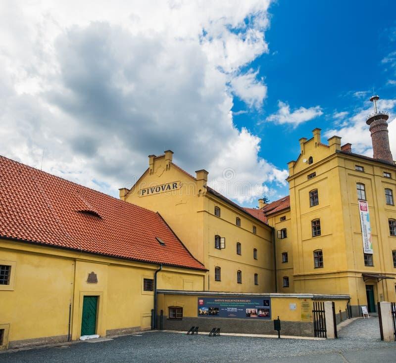 Museum in Plasy, Tsjechië royalty-vrije stock foto