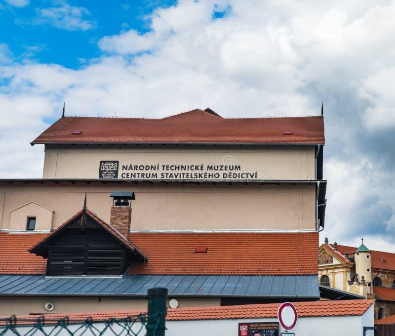 Museum in Plasy, Tsjechië stock foto's