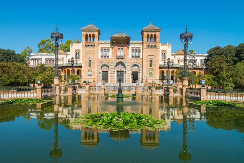 Museum of Popular Arts and Traditions, Sevilla. Andalusia, Spain stock photos