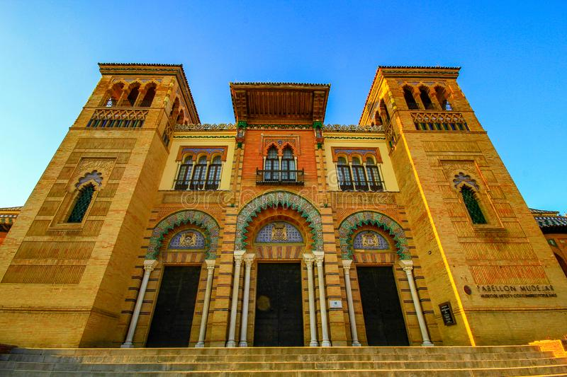 Museum of Popular Arts and Traditions, Sevilla stock photos