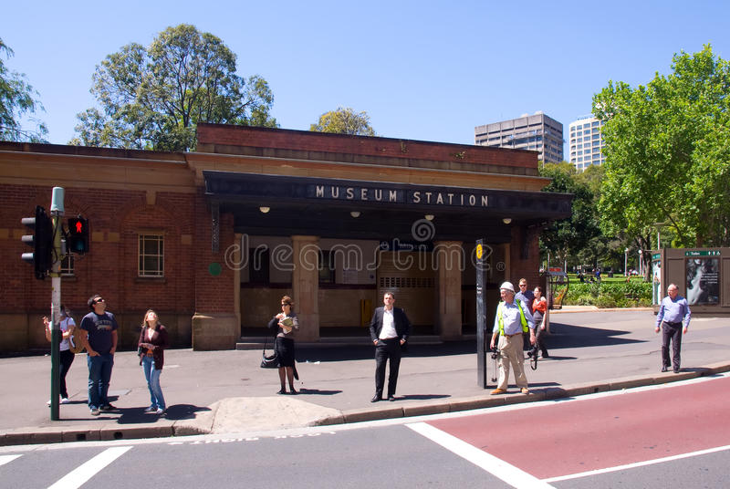 Download Museum Railway Station Sydney Editorial Stock Photo - Image: 19364273