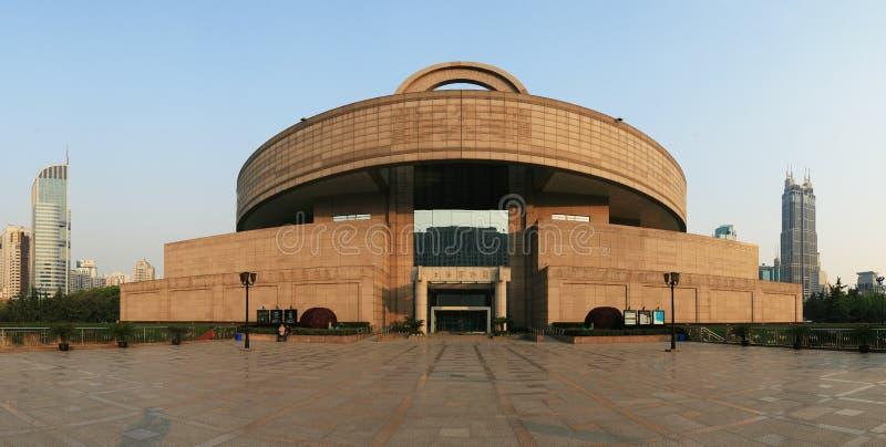 museum shanghai arkivbild