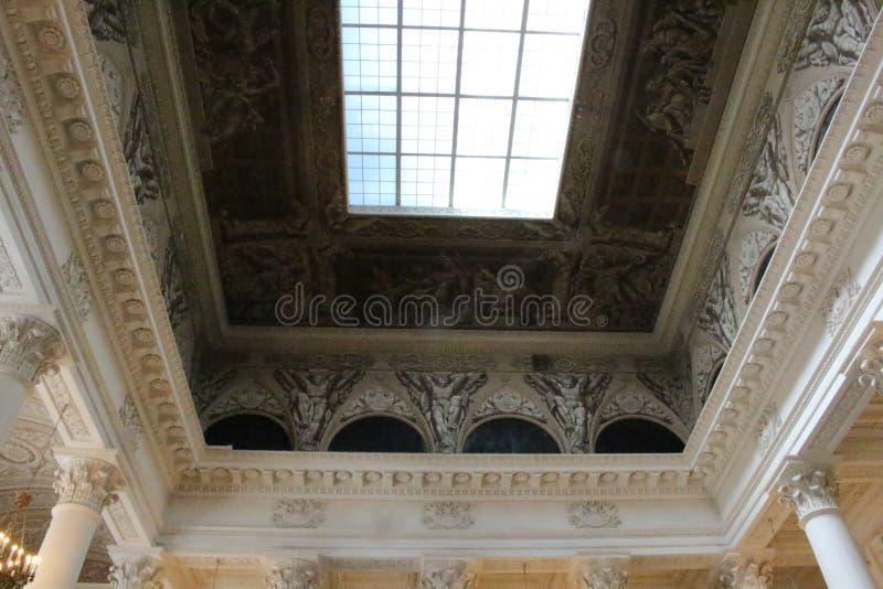 Museum/slott royaltyfria bilder