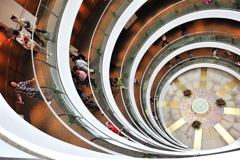 Download Museum Of The Spiral Staircase In Saudi Arabia Editorial Stock Image - Image: 21379679
