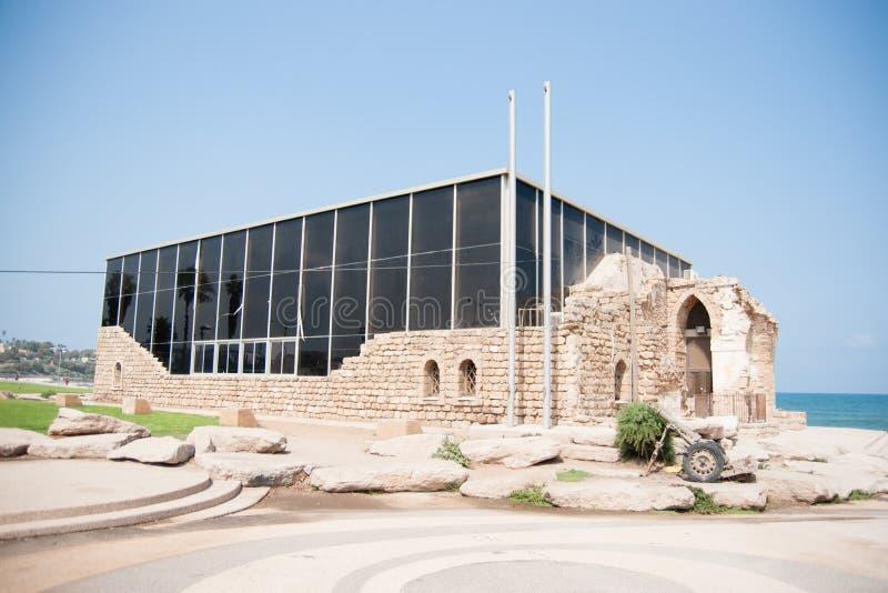 Museum in Tel Aviv stock afbeeldingen