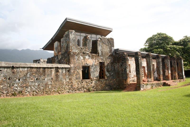 Museum in Trujillo, Honduras royalty-vrije stock foto's