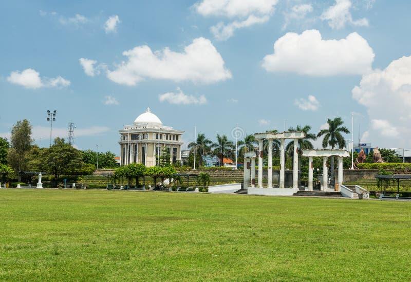 Museum Tugu Pahlawan in Surabaya, Osttimor, Indonesien lizenzfreies stockbild