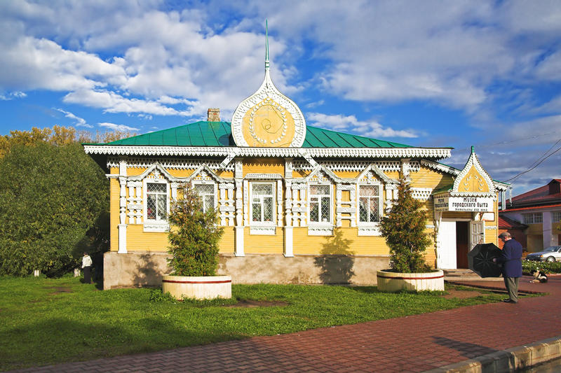 Museum of urban life in Uglich. Russia royalty free stock photos