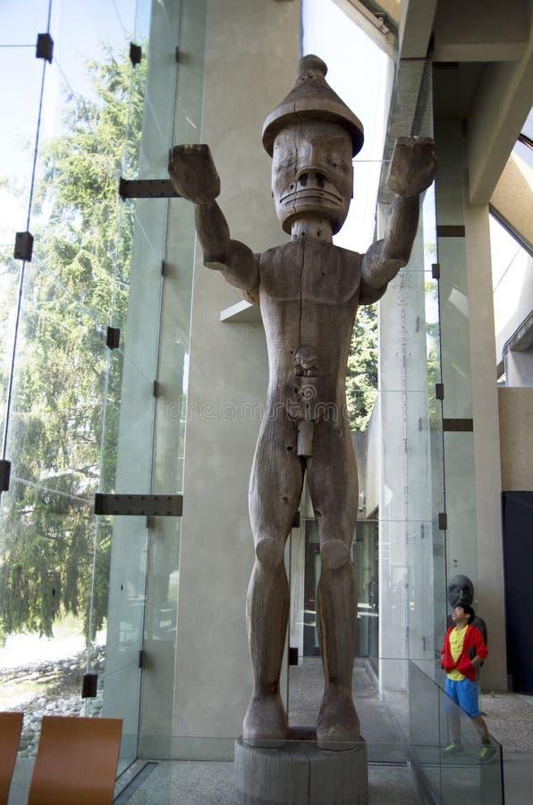 Museum van Antropologie bij UBC royalty-vrije stock afbeeldingen