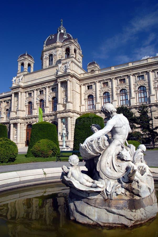 Museum van Beeldende kunsten - Wenen stock foto's