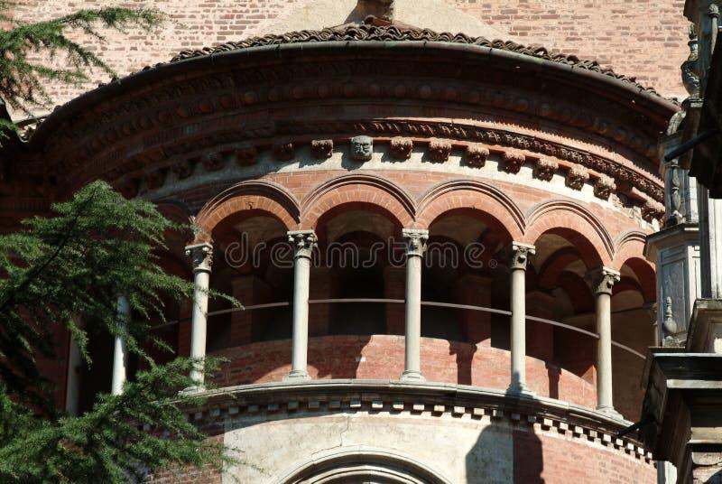 Museum van Certosa van Pavia royalty-vrije stock foto
