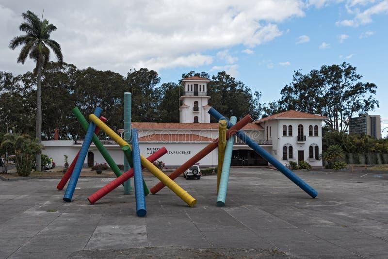 Museum van Costa Rican Art, San Jose, Costa Rica royalty-vrije stock afbeelding