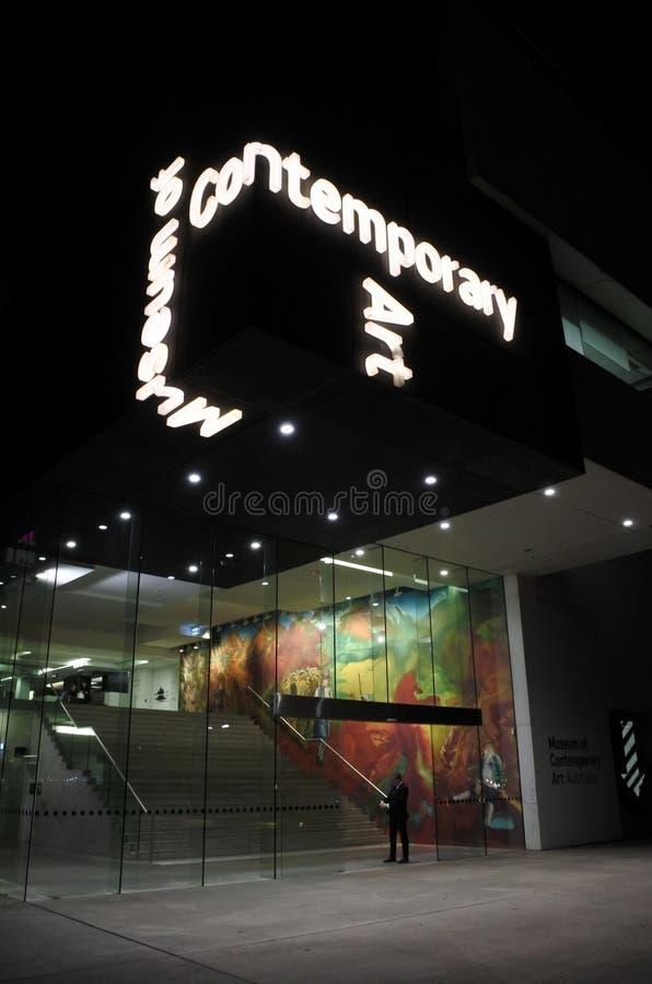 Museum van Eigentijds Art Australia Sydney New South Wales Aus stock foto's