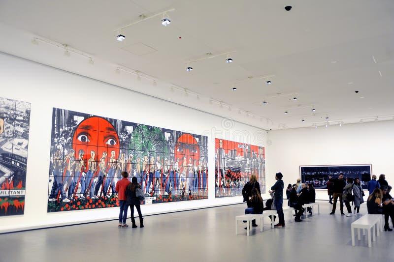 Museum van Eigentijdse Kunst van Louis Vuitton Foundation stock foto's