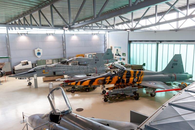 Museum van Forsvarsmuseet het Noorse Strijdkrachten stock foto's