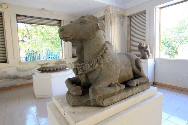 Museum van het Beeldhouwwerk van Da Nangcham royalty-vrije stock fotografie