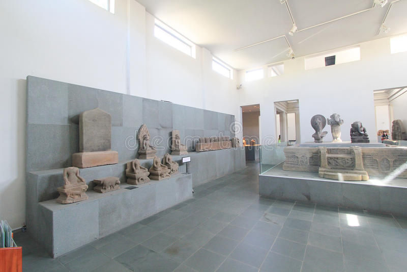 Museum van het Beeldhouwwerk van Da Nangcham stock foto