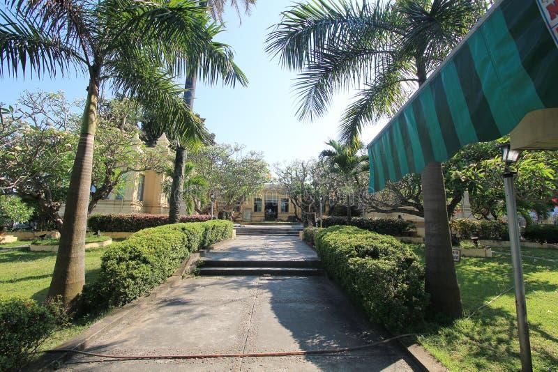 Museum van het Beeldhouwwerk van Da Nangcham stock afbeeldingen