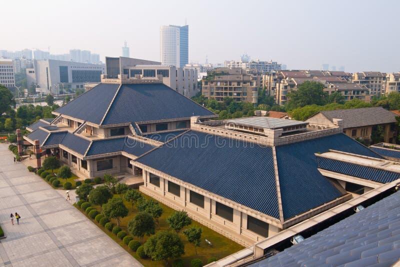 Museum van Hubei, China royalty-vrije stock foto's