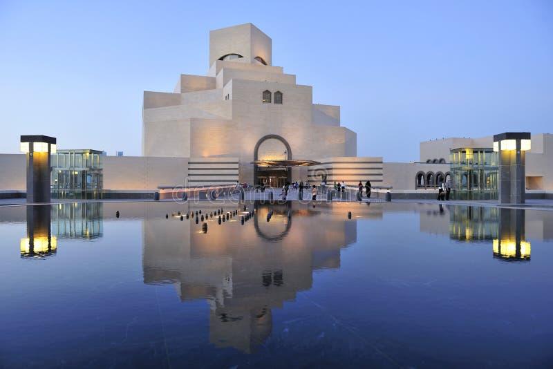 Museum van Islamitische Kunst, Doha, Qatar stock foto