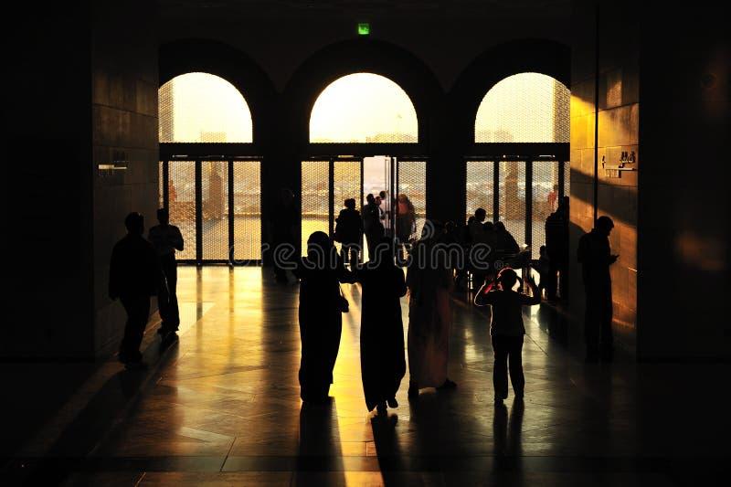 Museum van Islamitische Kunst, Doha, Qatar stock afbeelding