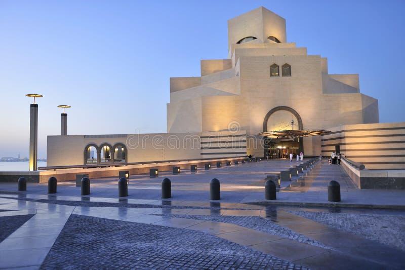 Citaten Kunst Qatar : Museum van islamitische kunst doha qatar stock