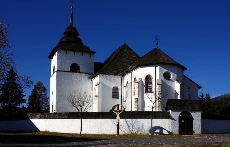 Museum van Liptov Pribylina stock foto