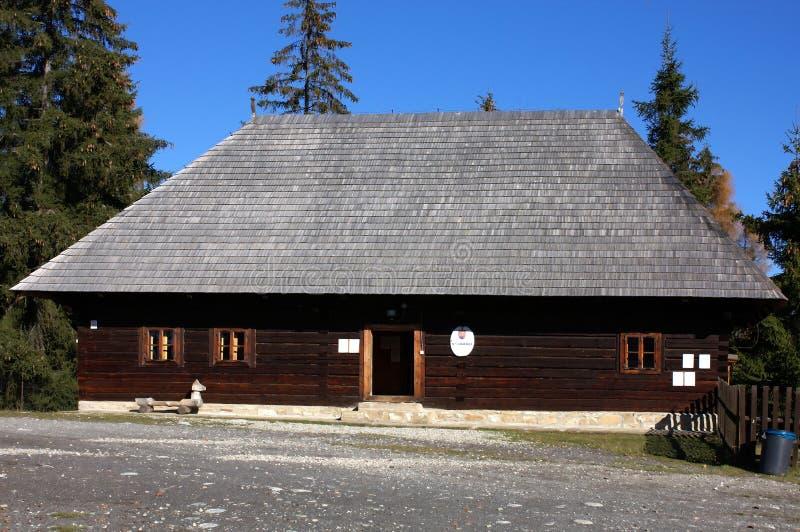 Museum van Liptov Pribylina royalty-vrije stock afbeelding