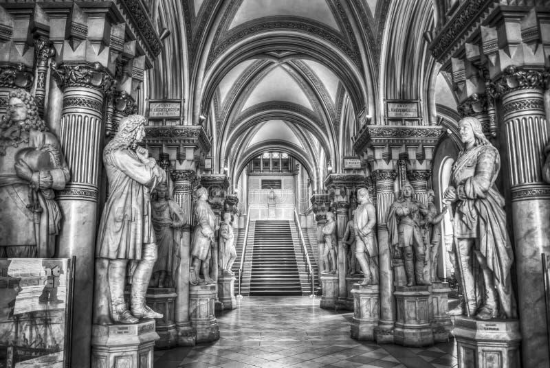 Museum van Militaire Geschiedenis in Wenen stock fotografie