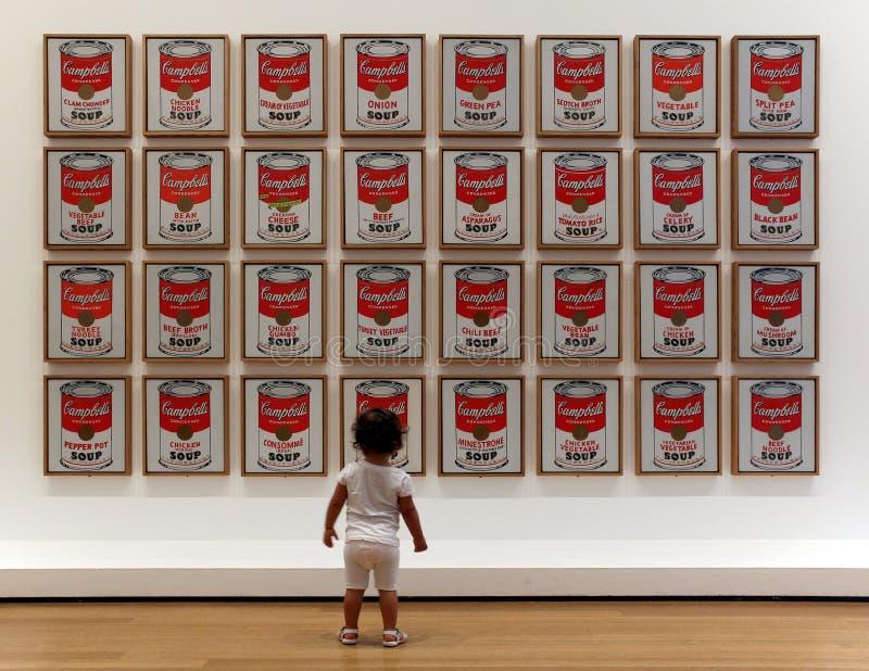 Museum van Moderne Kunst in de Stad van New York stock foto
