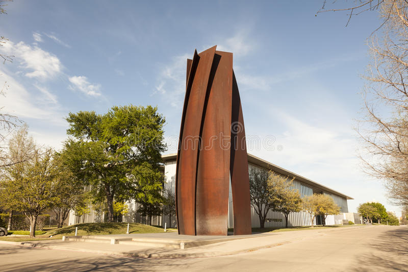 Museum van Moderne Kunst in Fort Worth, Texas stock foto's