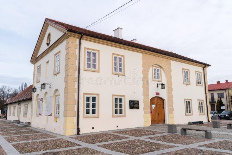 Museum van Pools-Litouws Andrzej Tadeusz Bonawentura Kosciuszko Kosciuszko is nationale held in Polen, Litouwen, Wit-Rusland, en stock foto