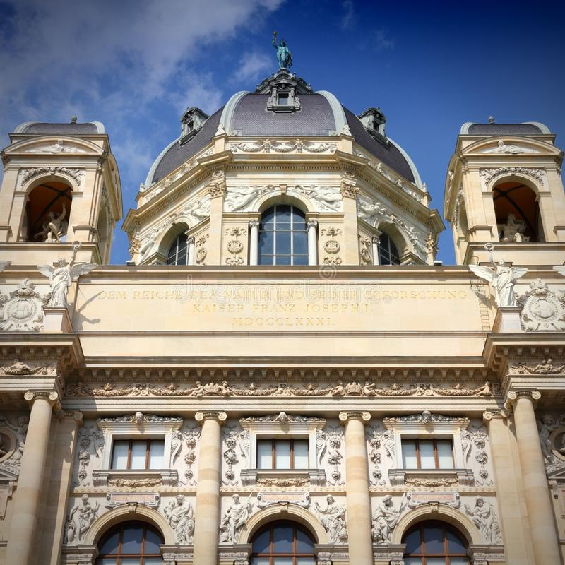 Museum in Vienna royalty free stock images