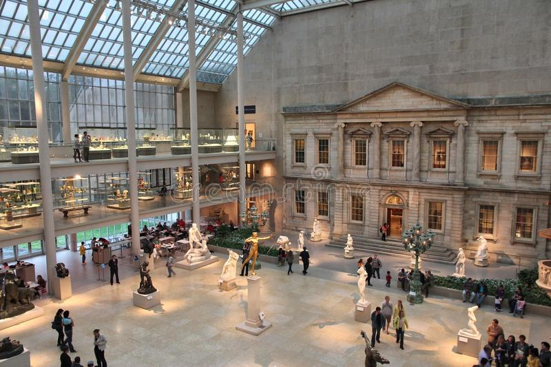 Museum visitors royalty free stock photography