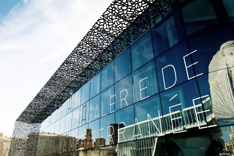 Museum von europäischen und Mittelmeerzivilisationen stockfotografie