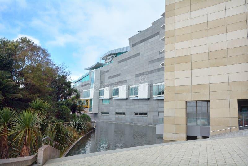 Museum von Neuseeland Te Papa Tongarewa lizenzfreie stockfotos