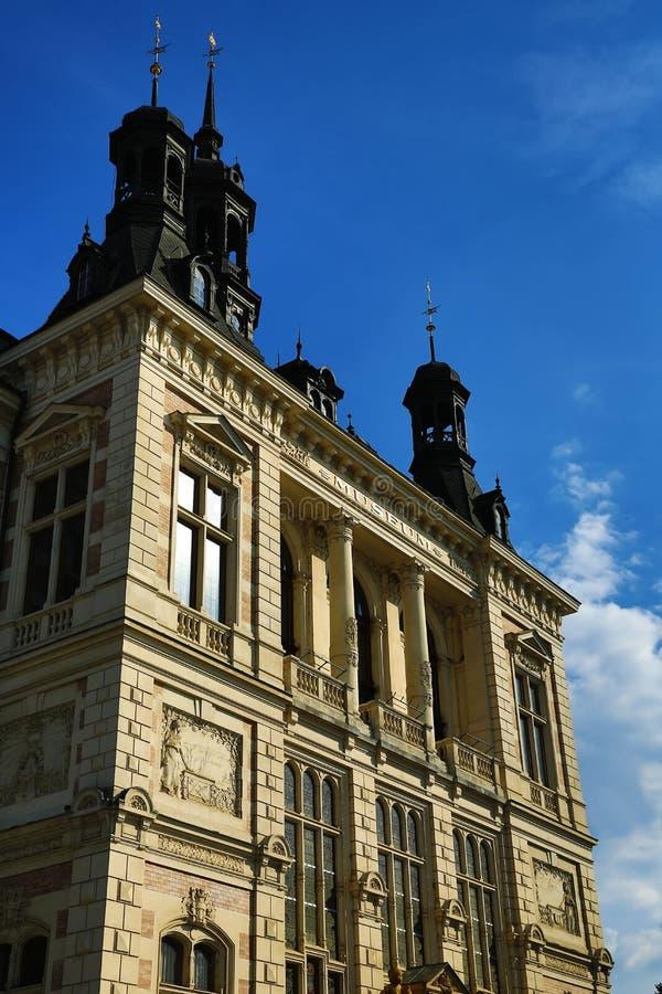 Museum von West-Böhmen in Pilsen, alte Architektur, Pilsen, Tschechische Republik lizenzfreies stockfoto