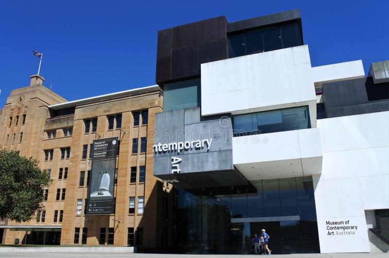 Museum von zeitgenössischem Art Australia Sydney New South Wales Aus stockbilder