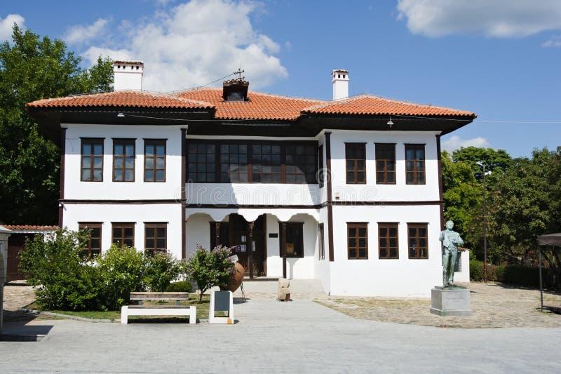 Museum voor de nationale geschiedenis in Vranje, Servië royalty-vrije stock fotografie